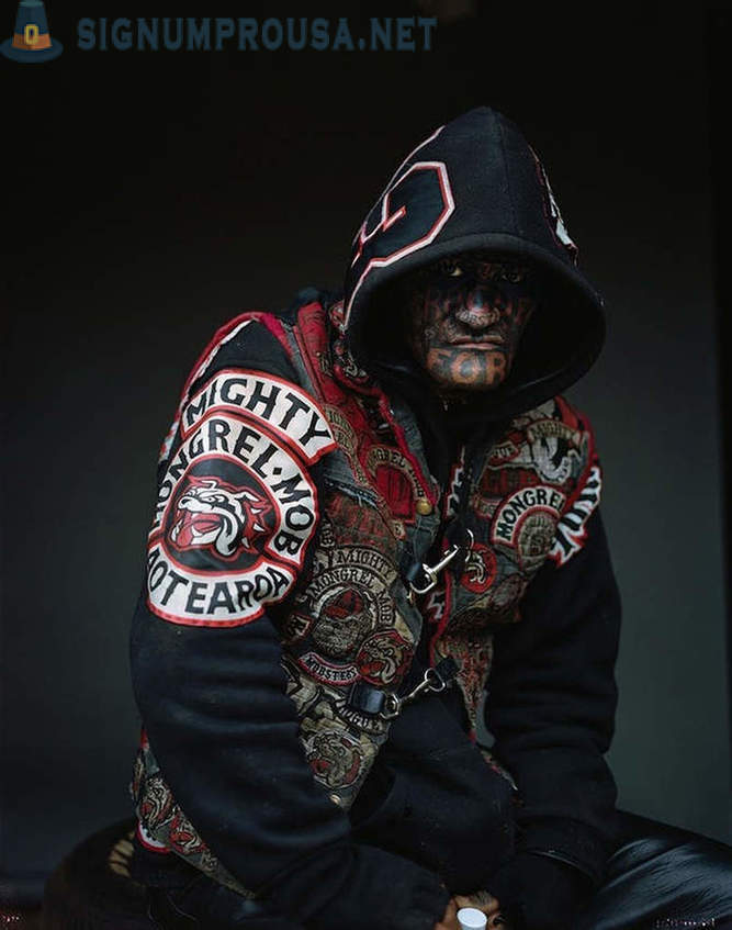 Brutal grup de Noua Zeelandă Mighty Mongrel Mob